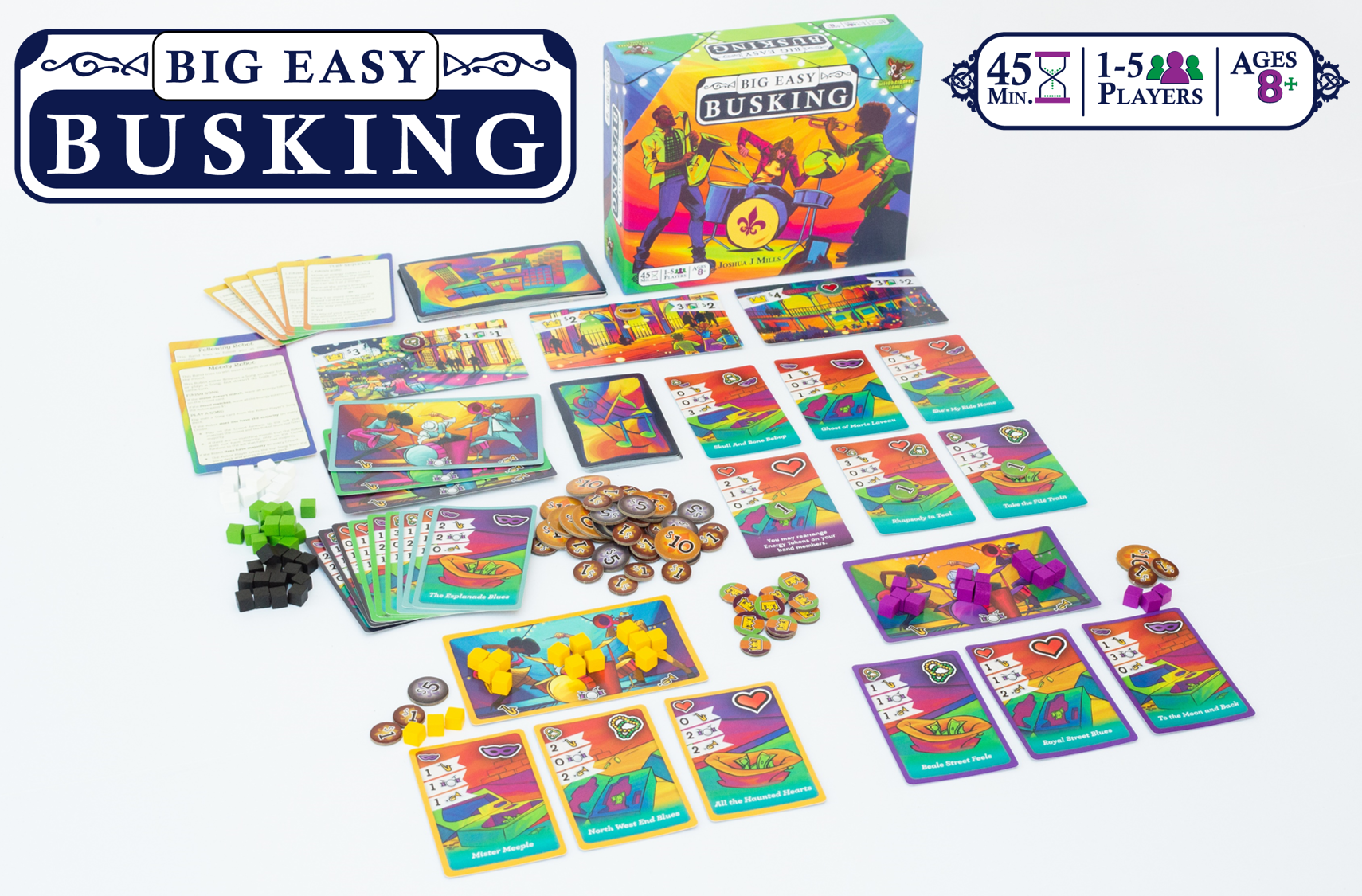big easy busking materials